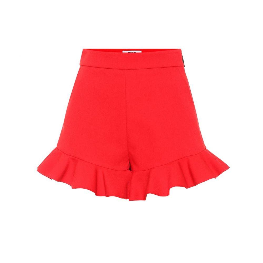エムエスジーエム MSGM レディース ショートパンツ ボトムス・パンツ【Stretch-crepe shorts】red