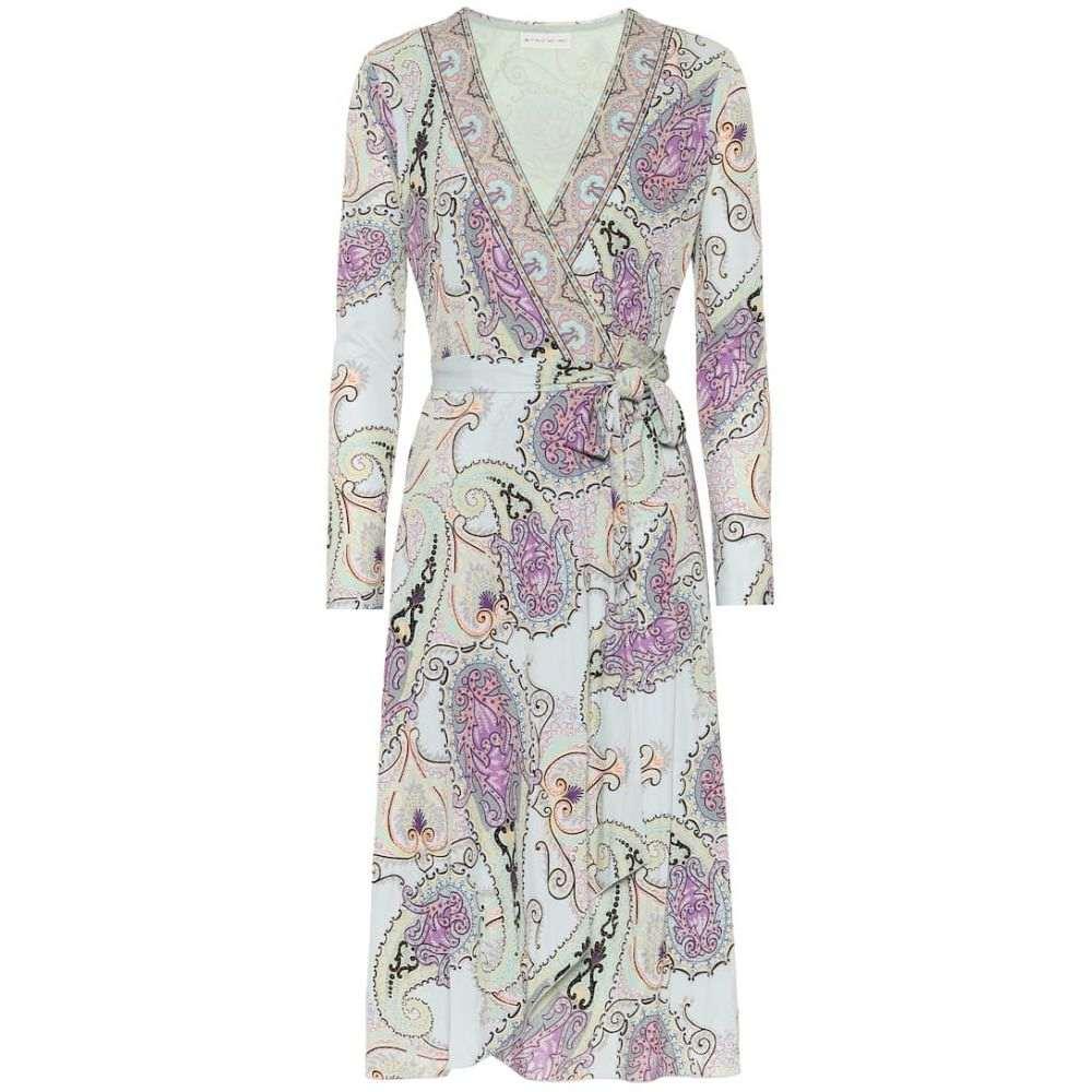 エトロ Etro レディース ワンピース ラップドレス ワンピース・ドレス【Paisley wrap dress】