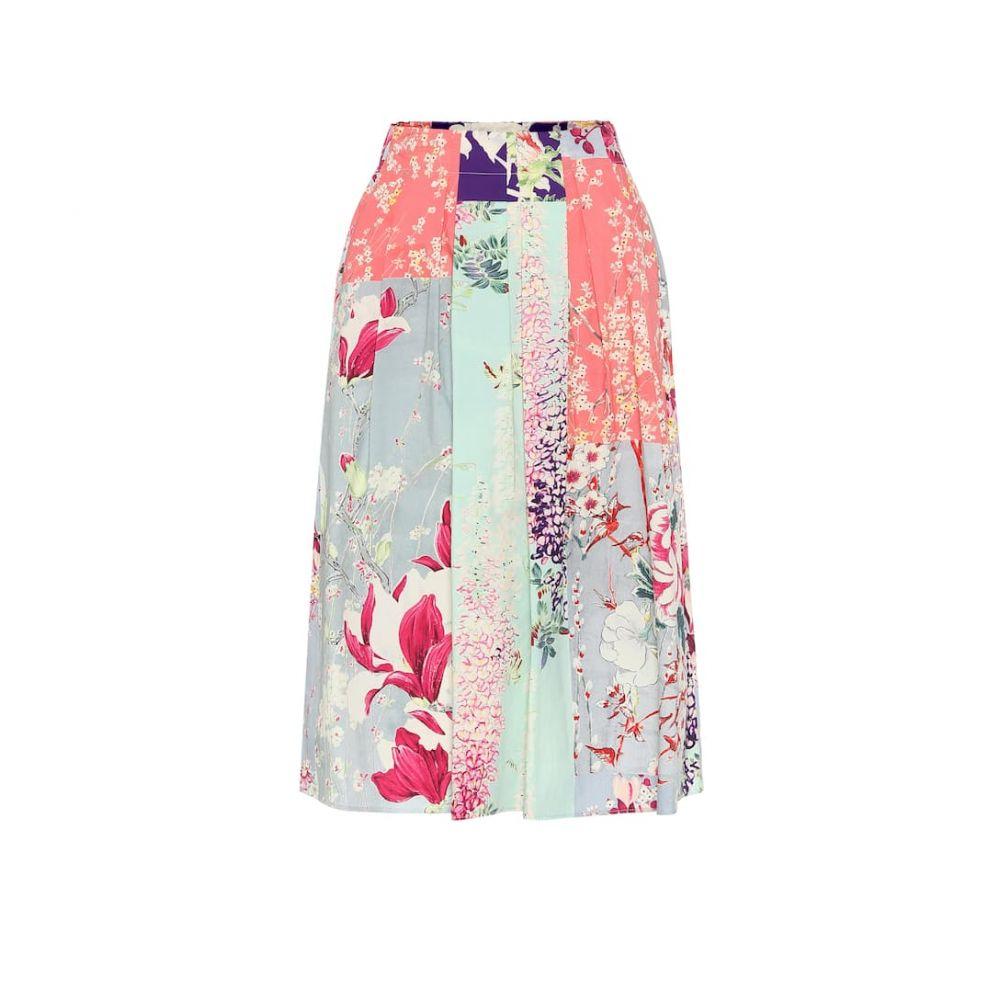 エトロ Etro レディース ミニスカート スカート【Floral cotton skirt】
