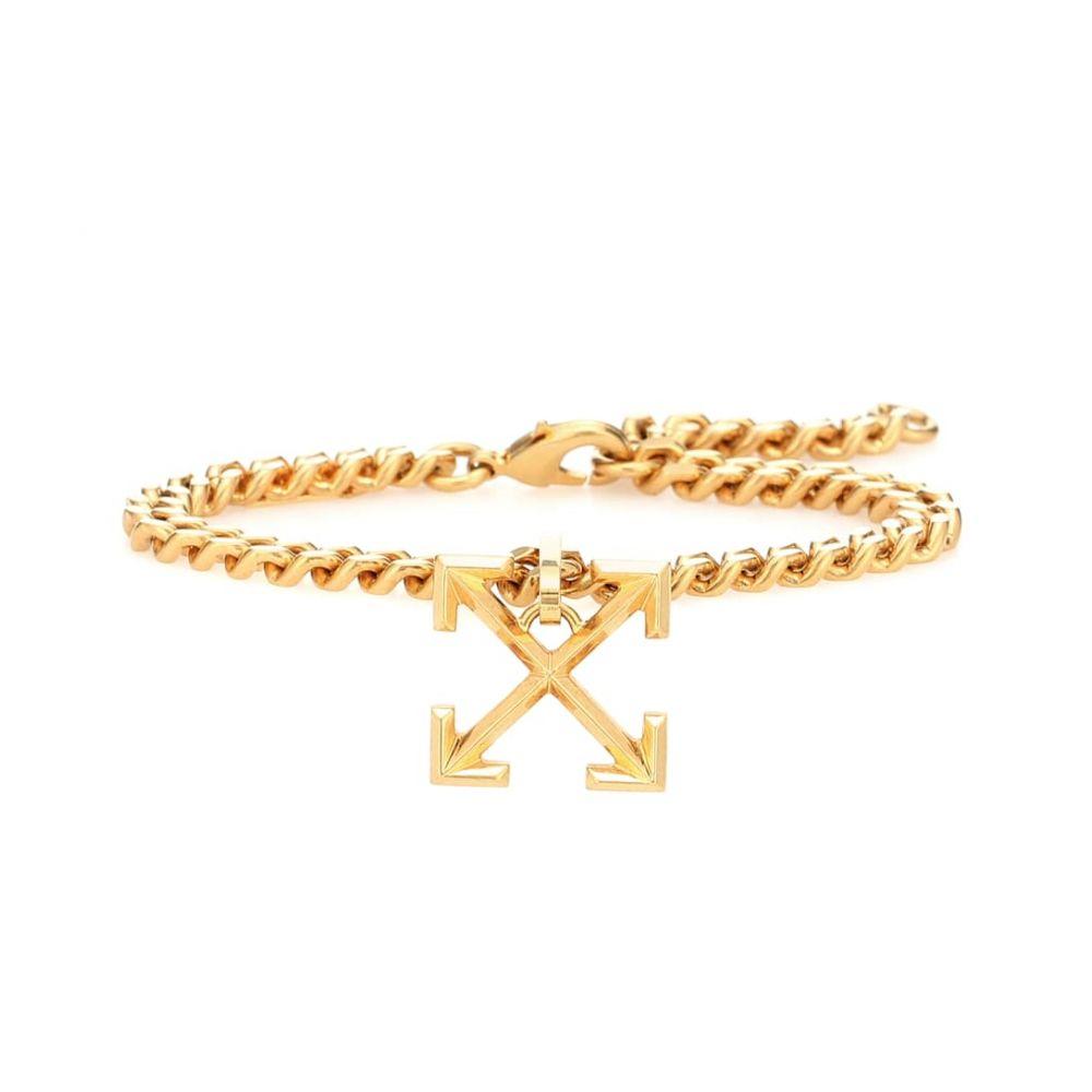 オフホワイト Off-White レディース ブレスレット ジュエリー・アクセサリー【Reversible arrow bracelet】
