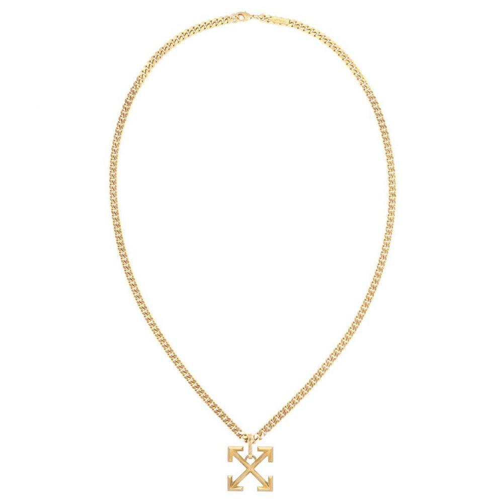オフホワイト Off-White レディース ネックレス ジュエリー・アクセサリー【Arrow chain necklace】