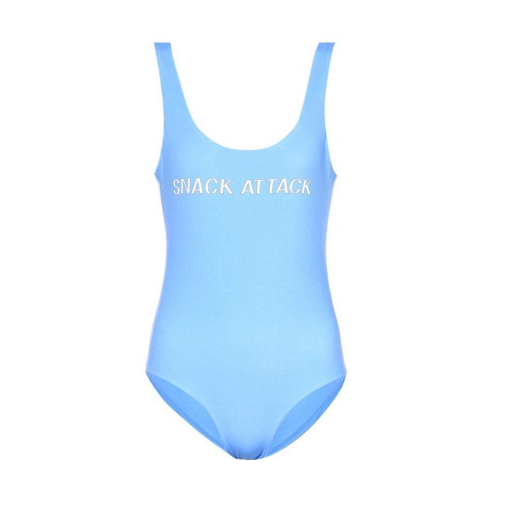 ガニー Ganni レディース ワンピース 水着・ビーチウェア【Snack Attack swimsuit】Marina