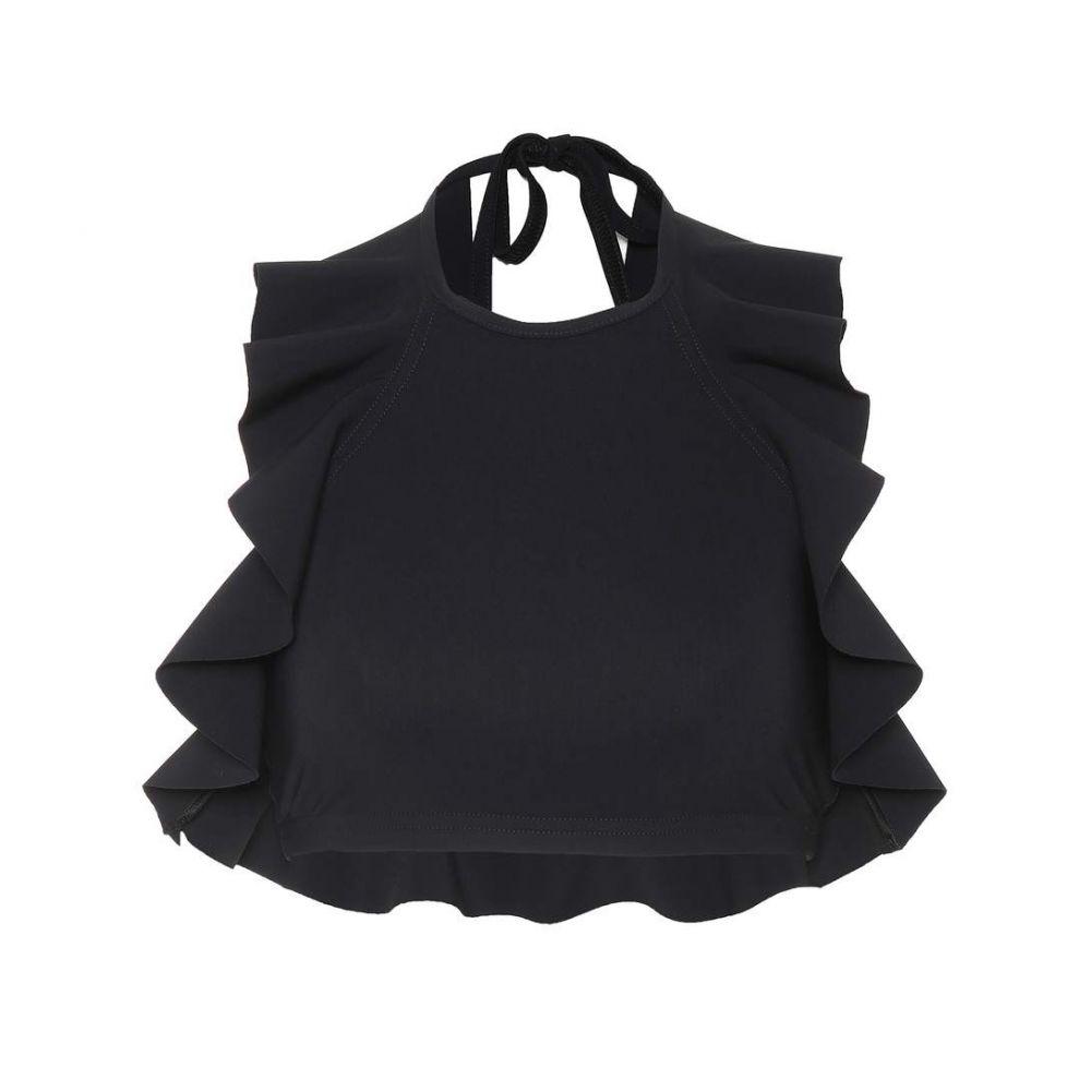 カーラコレット Karla Colletto レディース トップのみ 水着・ビーチウェア【Zaha halterneck bikini top】Black