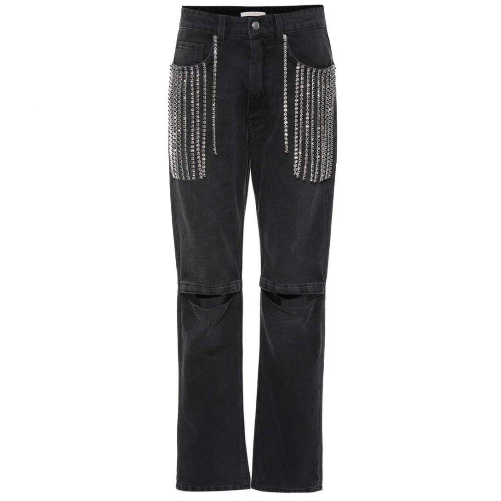 クリストファー ケイン Christopher Kane レディース ジーンズ・デニム ボトムス・パンツ【Embellished jeans】Black