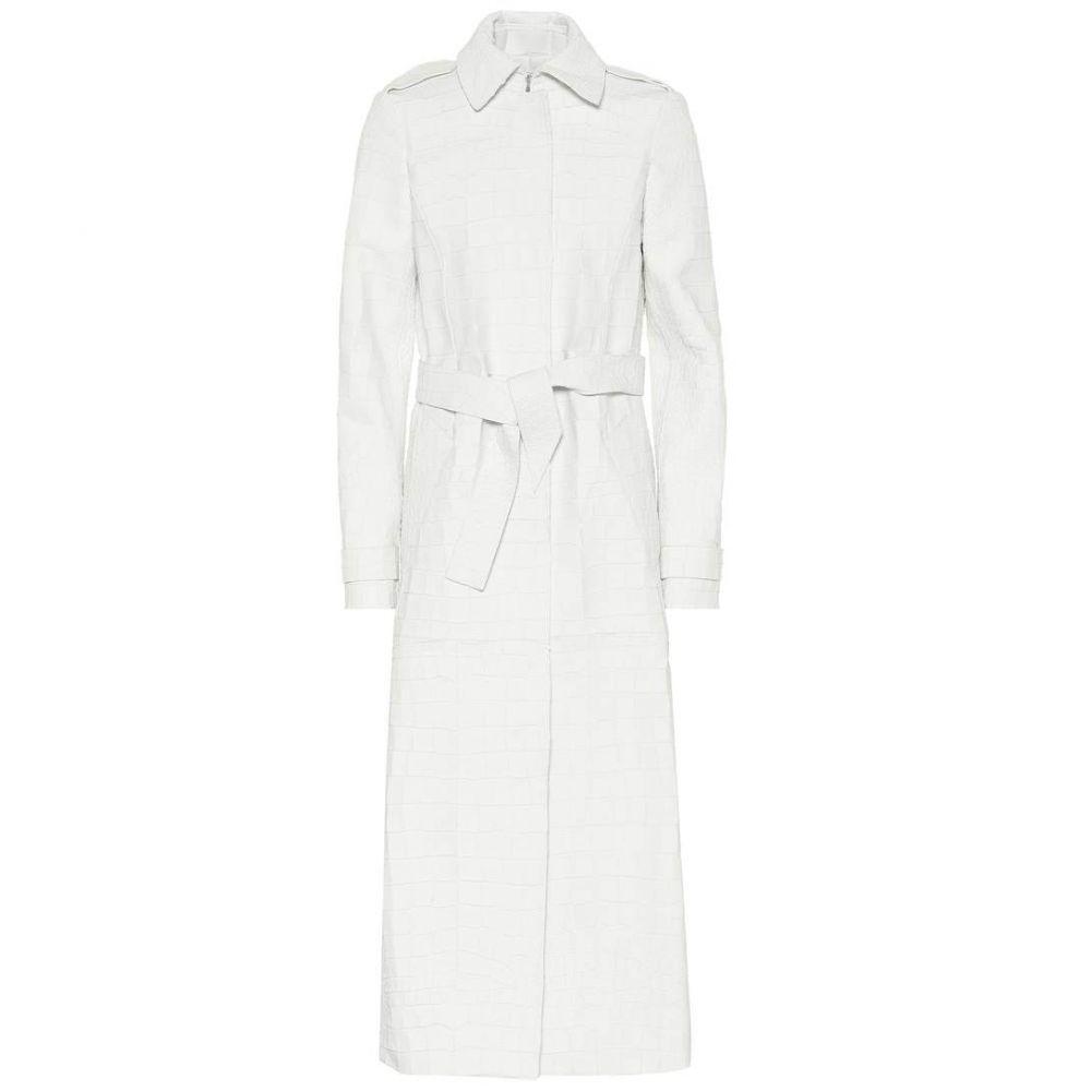 ガブリエラ ハースト Gabriela Hearst レディース レザージャケット アウター【Silverira leather coat】white