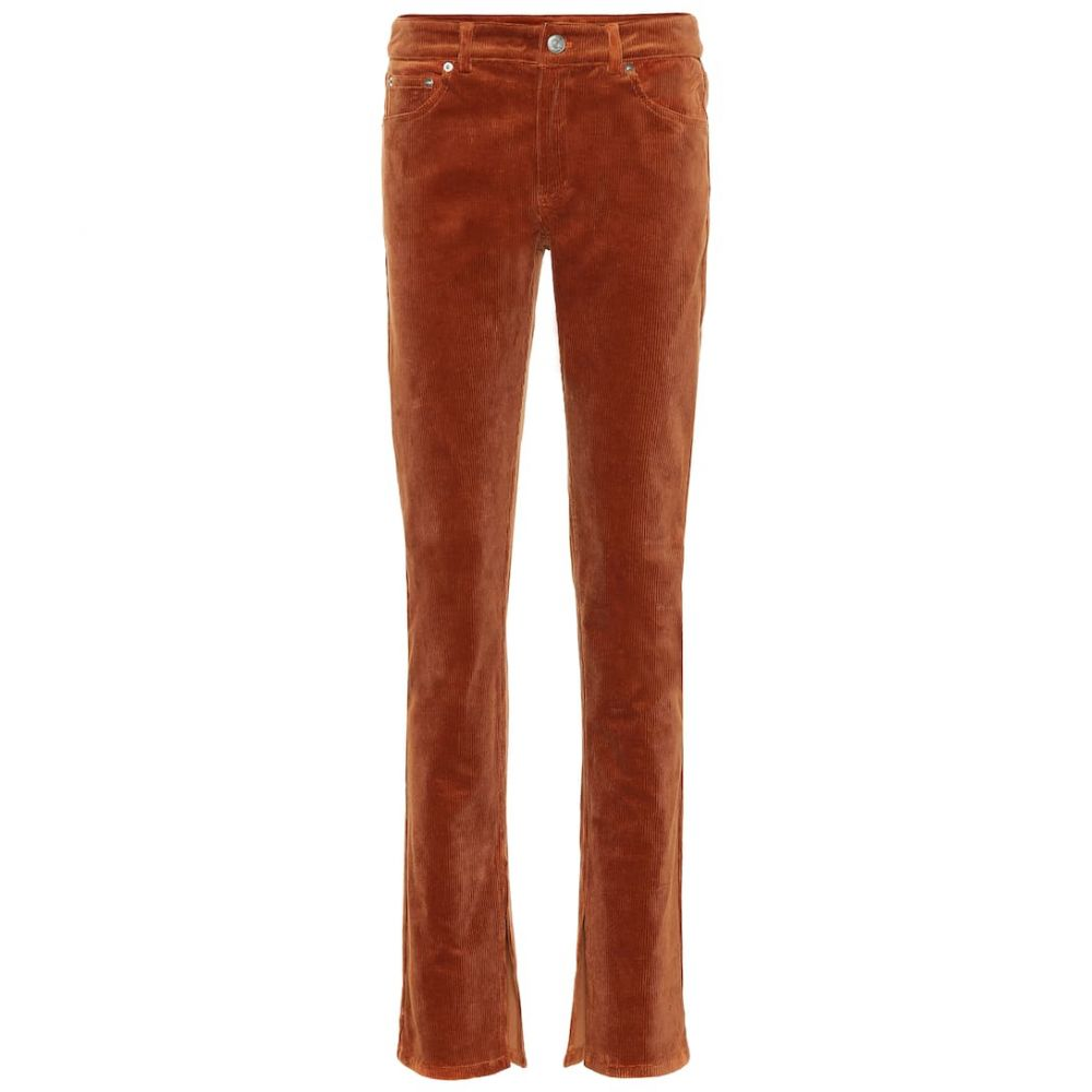 ガニー Ganni レディース ボトムス・パンツ 【Stretch corduroy straight pants】Caramel Cafe