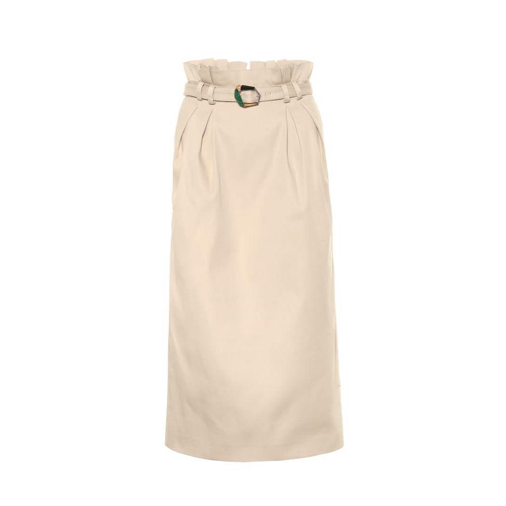 ガブリエラ ハースト Gabriela Hearst レディース スカート 【Jordan cotton skirt】Khaki