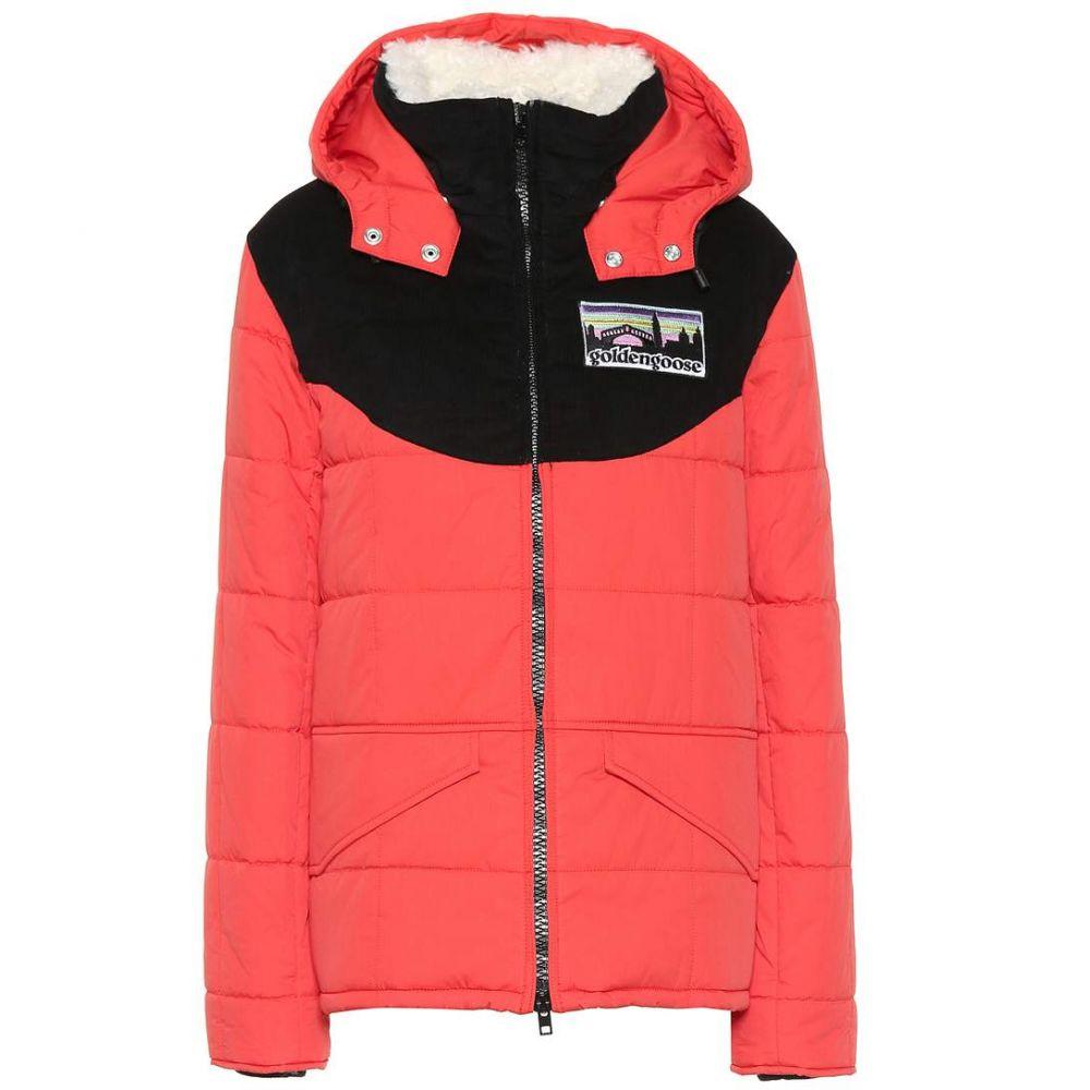 ゴールデン グース Golden Goose レディース ジャケット フード アウター【Fur-trimmed hooded jacket】Coral