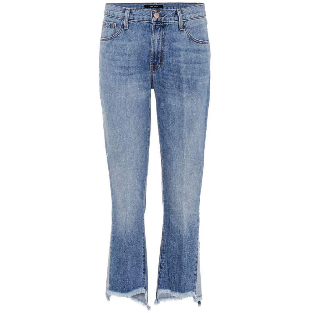 ジェイ ブランド J Brand レディース ジーンズ・デニム ボトムス・パンツ【Aubrie high-rise cropped jeans】Hydra