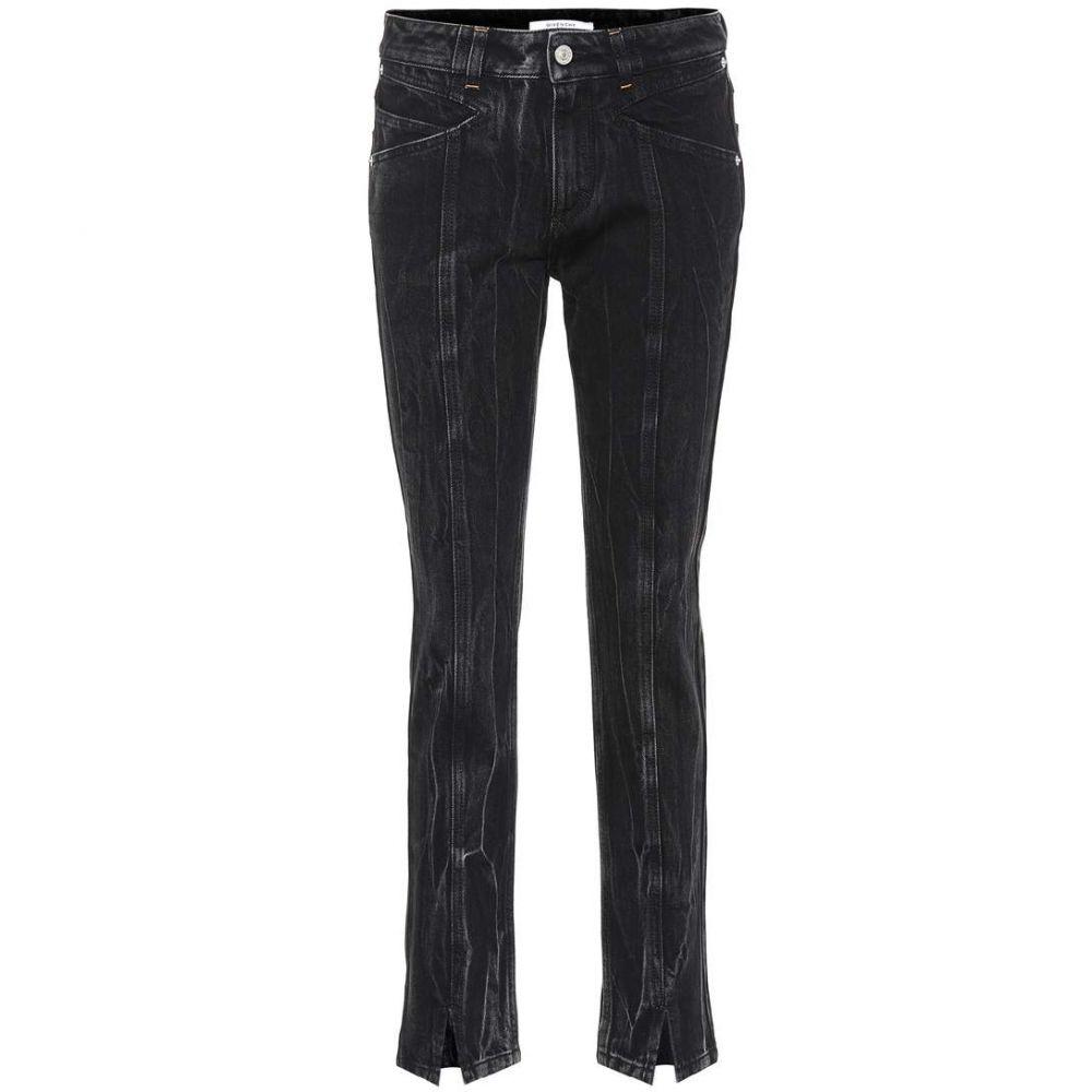 ジバンシー Givenchy レディース ジーンズ・デニム ボトムス・パンツ【Straight-leg jeans】Black