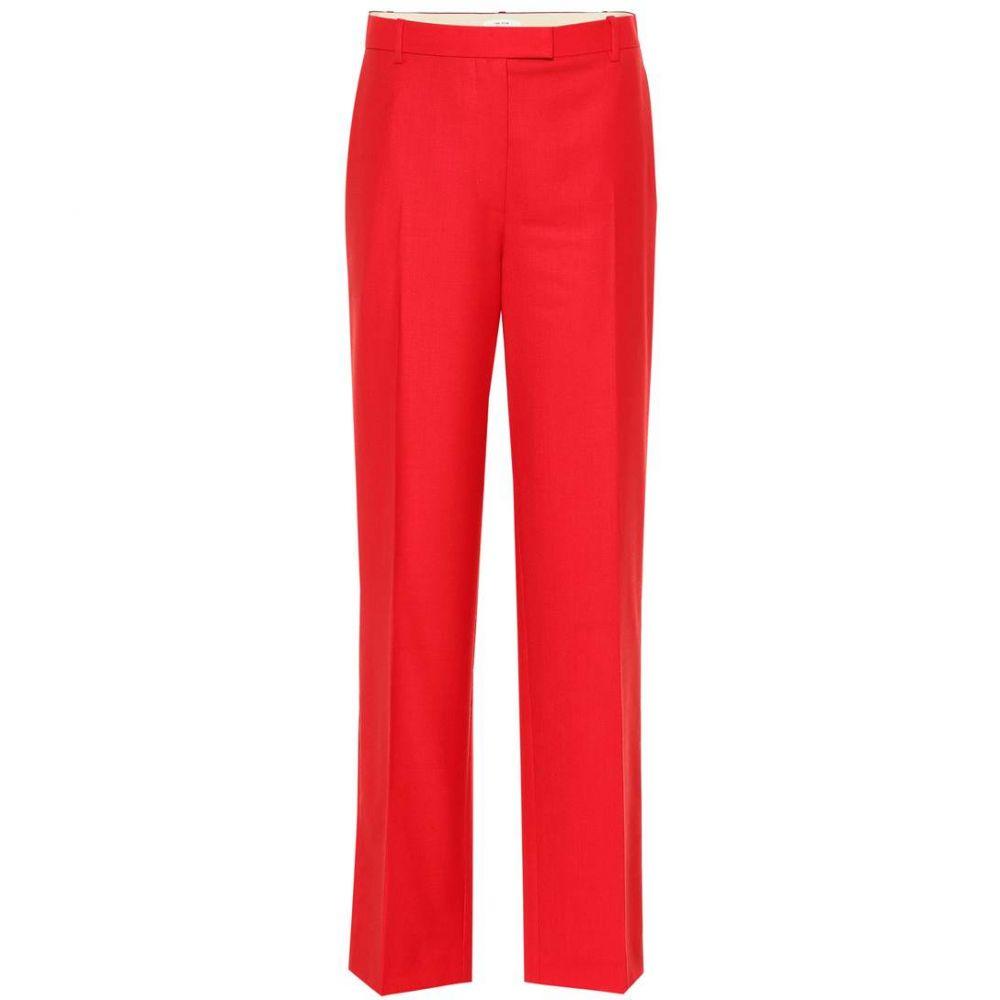 ザ ロウ The Row レディース ボトムス・パンツ 【Lada wool pants】Red