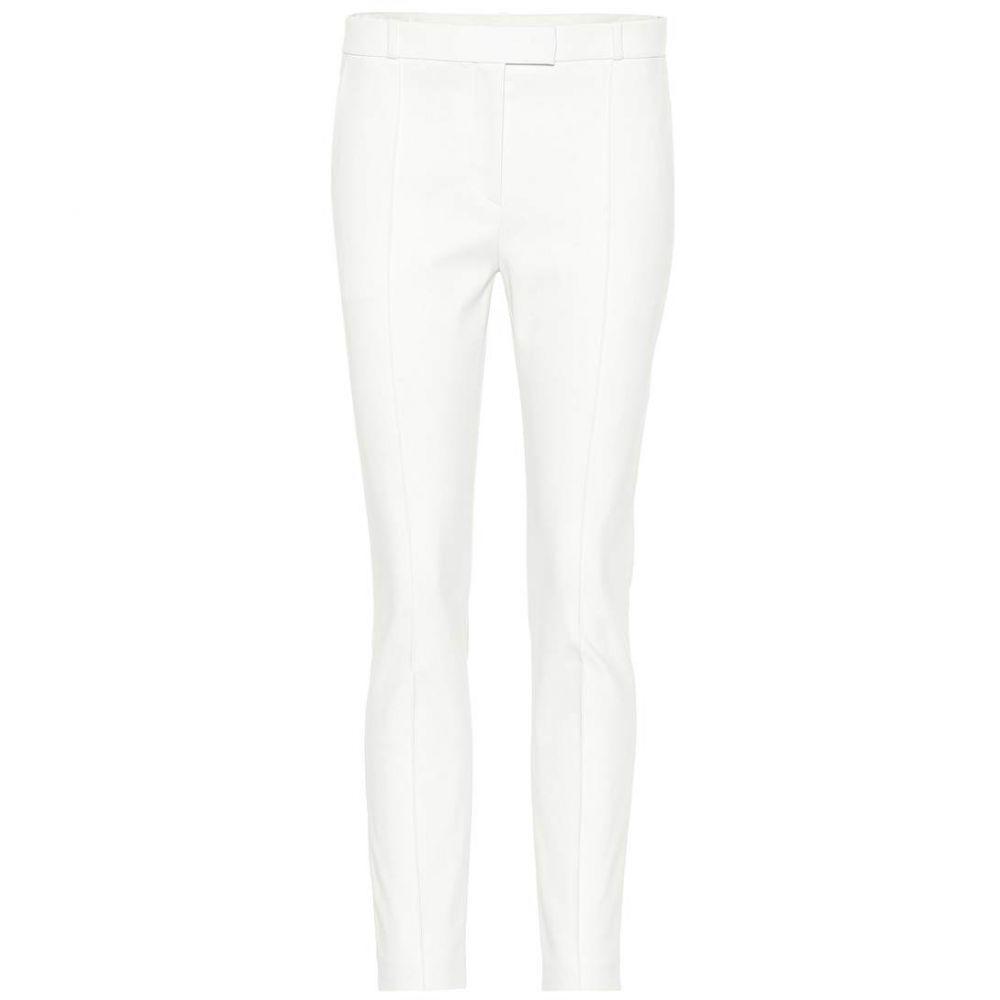 ザ ロウ The Row レディース クロップド ボトムス・パンツ【Tao cropped cotton-blend pants】Ivory