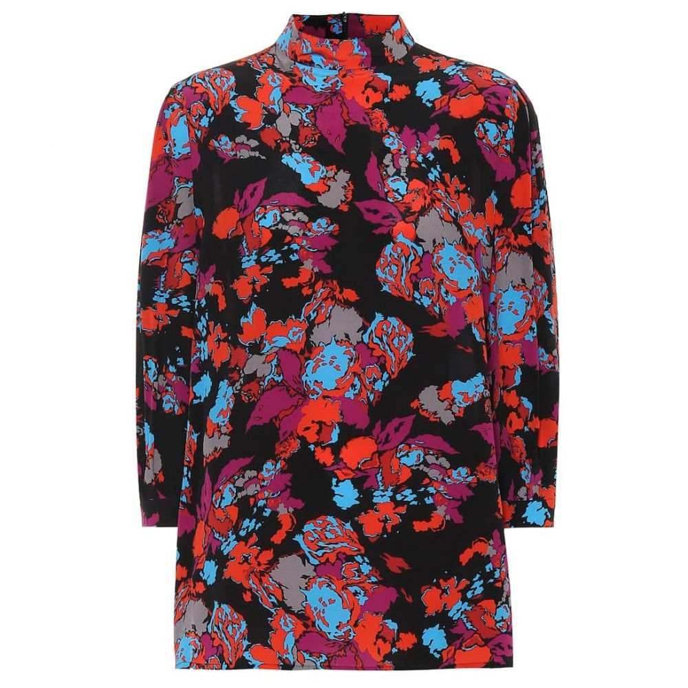 ジバンシー Givenchy レディース トップス 【Printed silk top】Multicolored