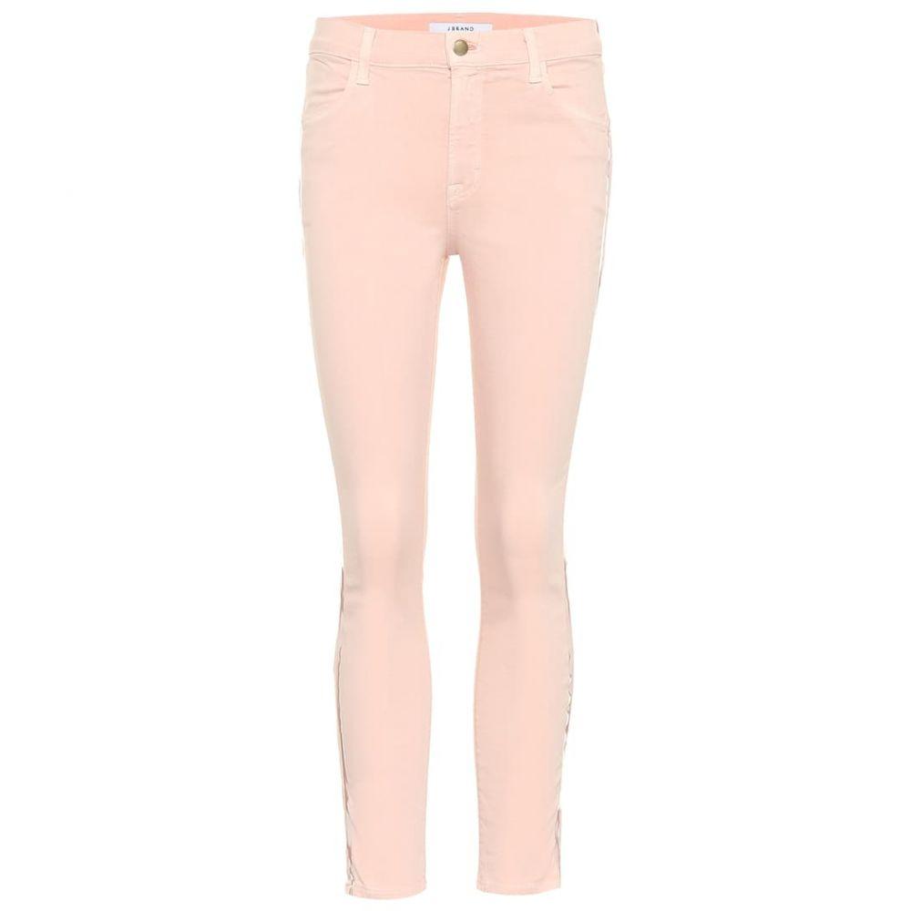 ジェイ ブランド J Brand レディース ジーンズ・デニム ボトムス・パンツ【Alana cropped high-rise skinny jeans】dist lulled