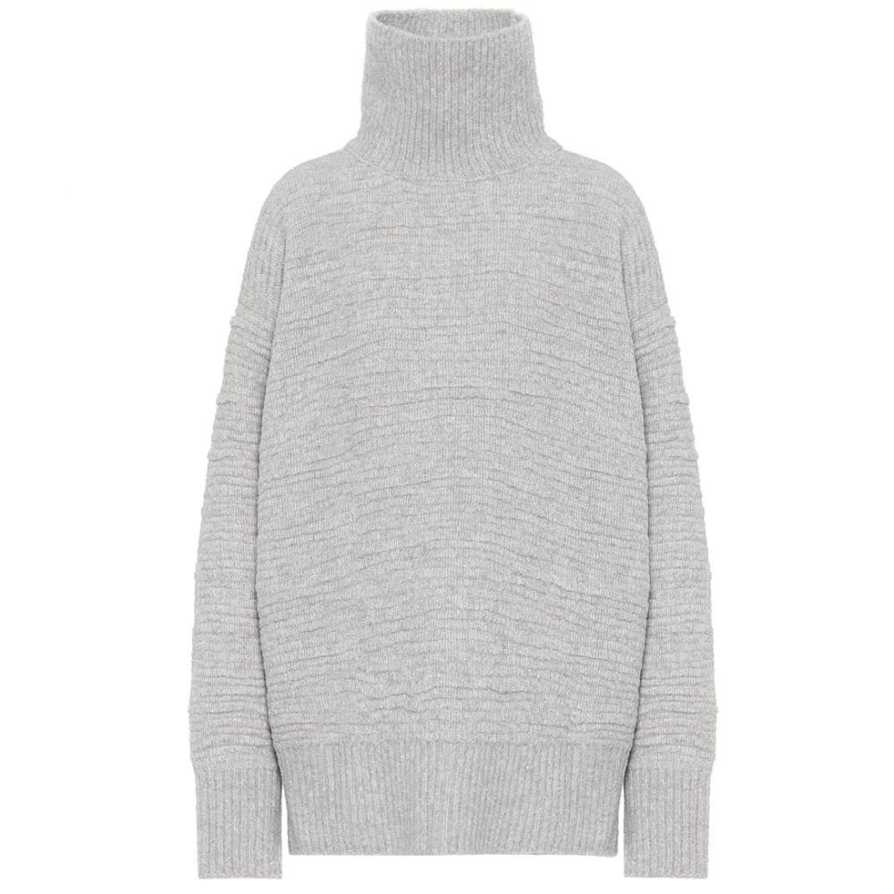 ザ ロウ The Row レディース ニット・セーター トップス【Pheliana wool-blend sweater】Stone