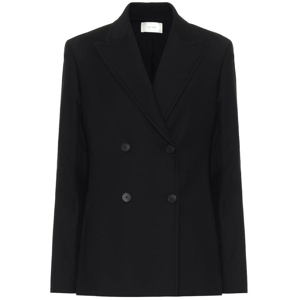 ザ ロウ The Row レディース スーツ・ジャケット アウター【Zori stretch cotton-blend jacket】Black