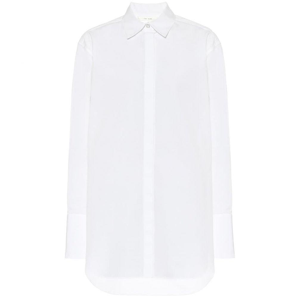 ザ ロウ The Row レディース ブラウス・シャツ トップス【Cody cotton shirt】Optic White