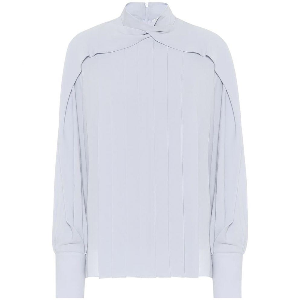 ザ ロウ The Row レディース ブラウス・シャツ トップス【Gila silk blouse】Baby Blue