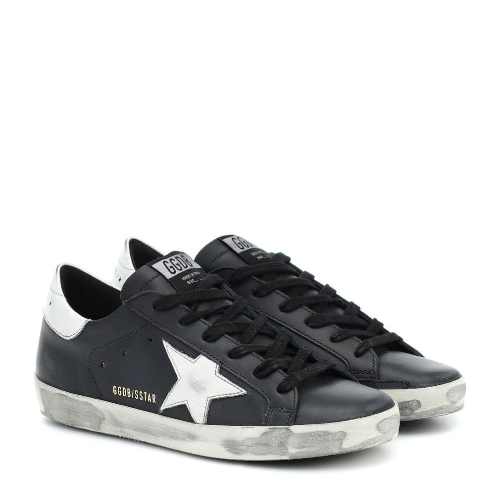 ゴールデン グース Golden Goose レディース スニーカー シューズ・靴【Superstar leather sneakers】Black-White Star