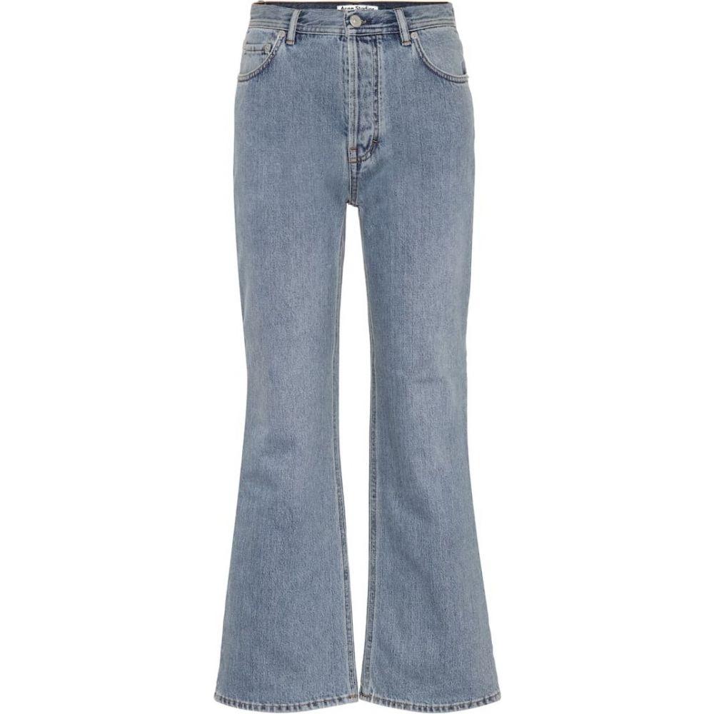 アクネ ストゥディオズ Acne Studios レディース ジーンズ・デニム ボトムス・パンツ【Taughty flared jeans】Blue Vintage