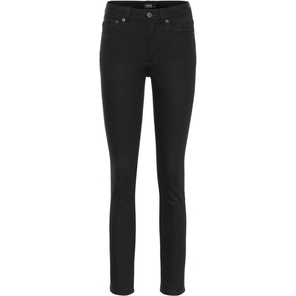 アーペーセー A.P.C. レディース ジーンズ・デニム ボトムス・パンツ【High Standard mid-rise skinny jeans】Noir