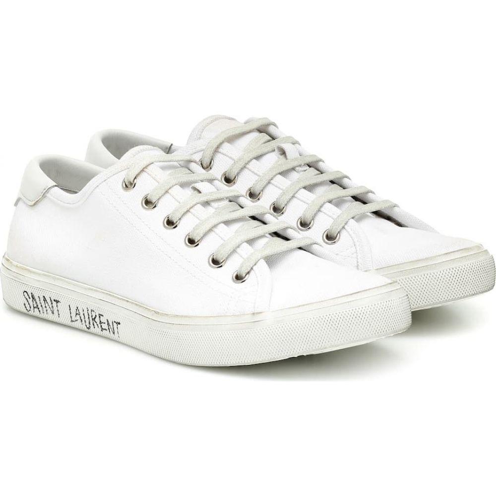 イヴ サンローラン Saint Laurent レディース スニーカー シューズ・靴【Malibu sneakers】Blanc Optique