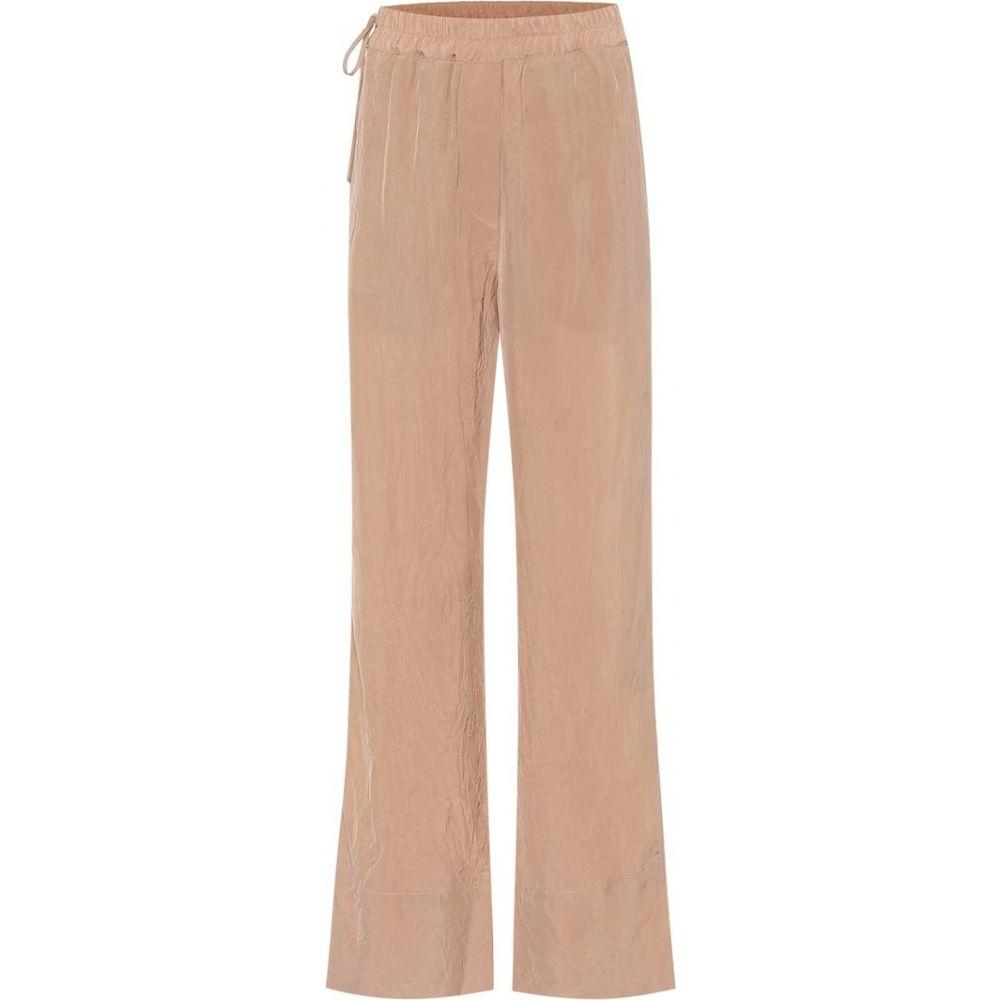 アクネ ストゥディオズ Acne Studios レディース ボトムス・パンツ 【High-rise wide-leg pants】Old Pink