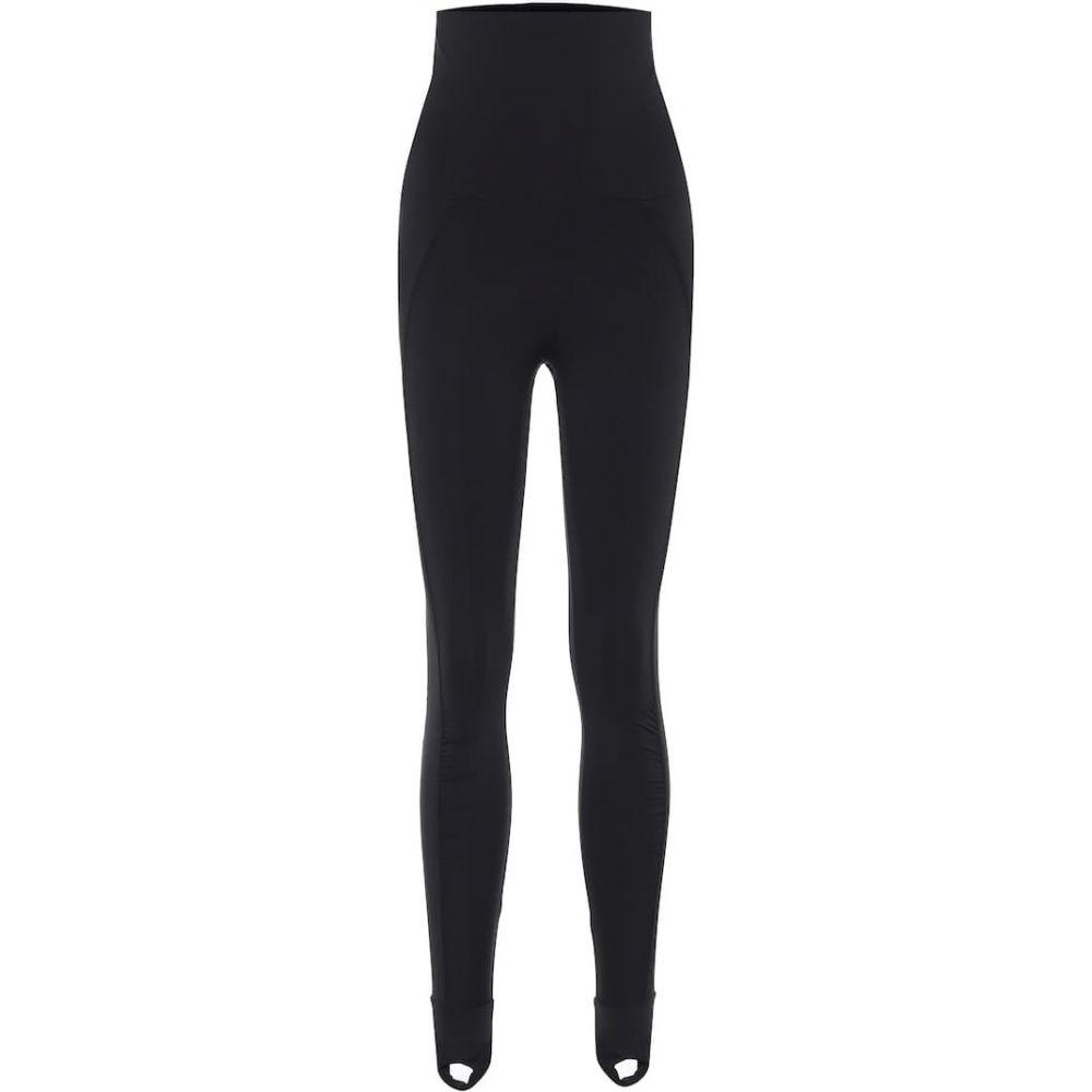 アディダス Adidas by Stella McCartney レディース スパッツ・レギンス インナー・下着【High-rise stirrup leggings】Black