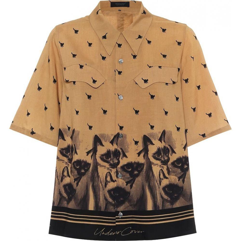 アンダーカバー Undercover レディース ブラウス・シャツ トップス【Printed blouse】Beige Base