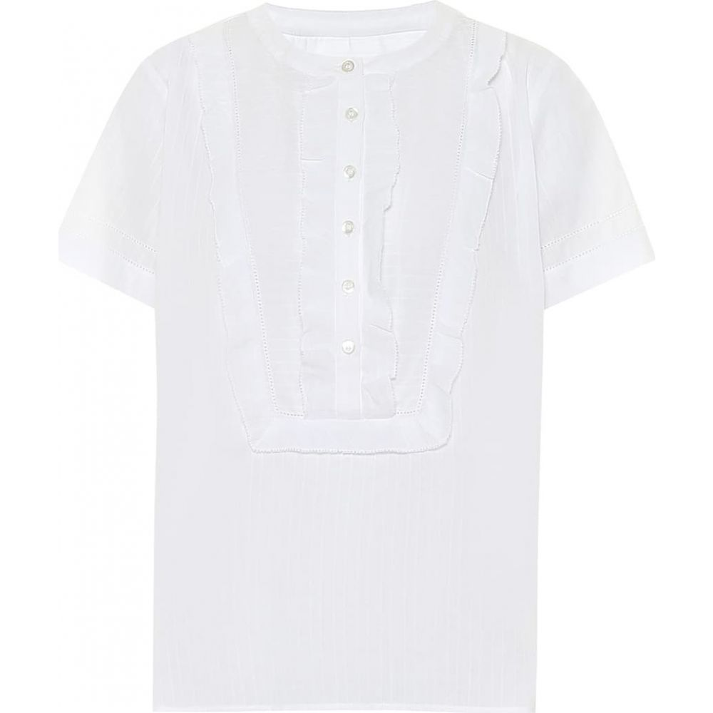 アーペーセー A.P.C. レディース Tシャツ トップス【Alexandra cotton T-shirt】Blanc