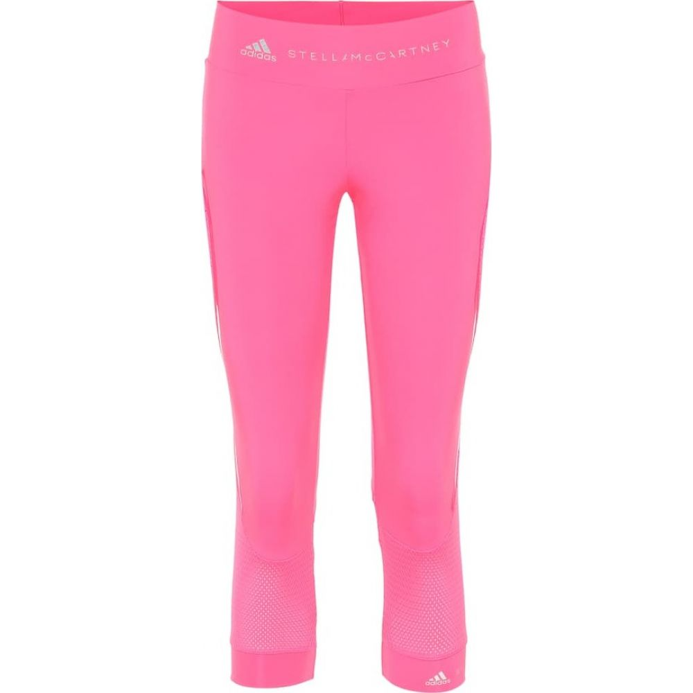 アディダス Adidas by Stella McCartney レディース スパッツ・レギンス インナー・下着【Performance Essentials cropped leggings】Solar Pink