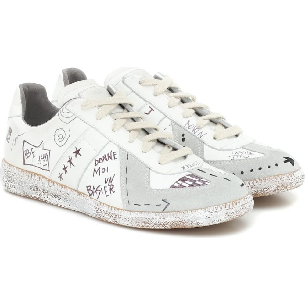 メゾン マルジェラ Maison Margiela レディース スニーカー シューズ・靴【Exclusive to Mytheresa - Vintage Graffiti sneakers】White
