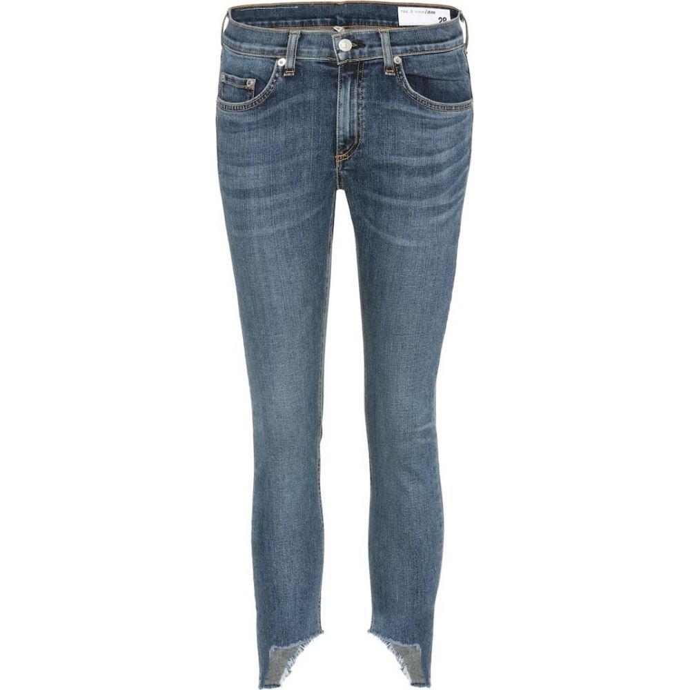 ラグ&ボーン Rag & Bone レディース ジーンズ・デニム ボトムス・パンツ【Capri cropped jeans】HAMPTON