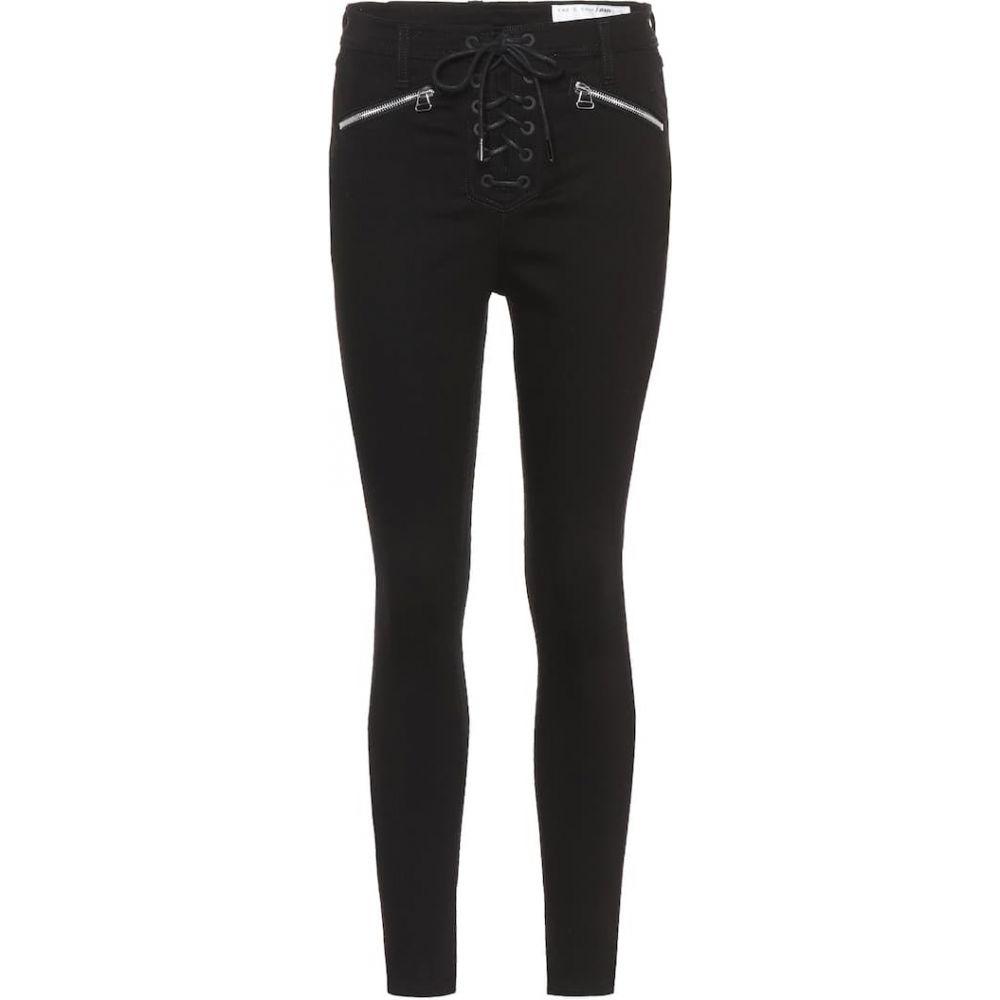 ラグ&ボーン Rag & Bone レディース ジーンズ・デニム ボトムス・パンツ【High-rise skinny jeans】Black