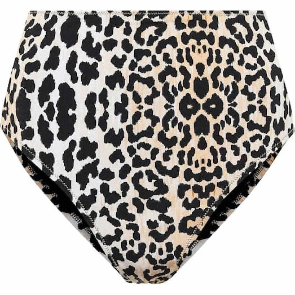 レイナ オルガ Reina Olga レディース ボトムのみ 水着・ビーチウェア【Hutton leopard-print bikini bottoms】Leopardo