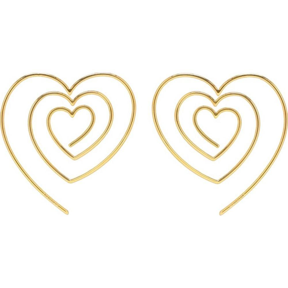 ワイプロジェクト Y/PROJECT レディース イヤリング・ピアス ジュエリー・アクセサリー【Heart-shaped spiral earrings】
