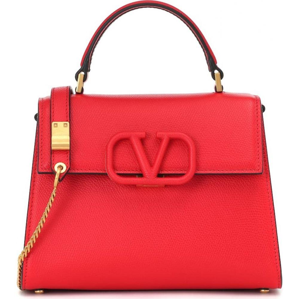 ヴァレンティノ Valentino レディース ショルダーバッグ バッグ【Garavani VSLING leather shoulder bag】Rouge Pur/Rubin