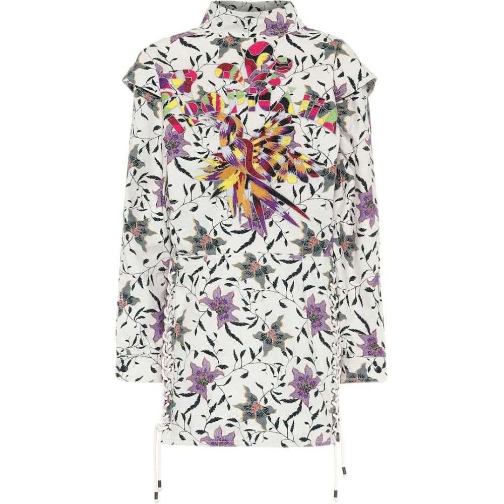 イザベル マラン Isabel Marant レディース ワンピース ワンピース・ドレス【Givens floral cotton minidress】Ecru