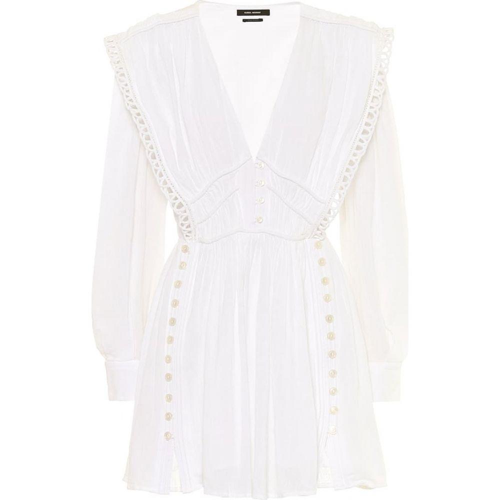 イザベル マラン Isabel Marant レディース ワンピース ワンピース・ドレス【Yaxo cotton minidress】White