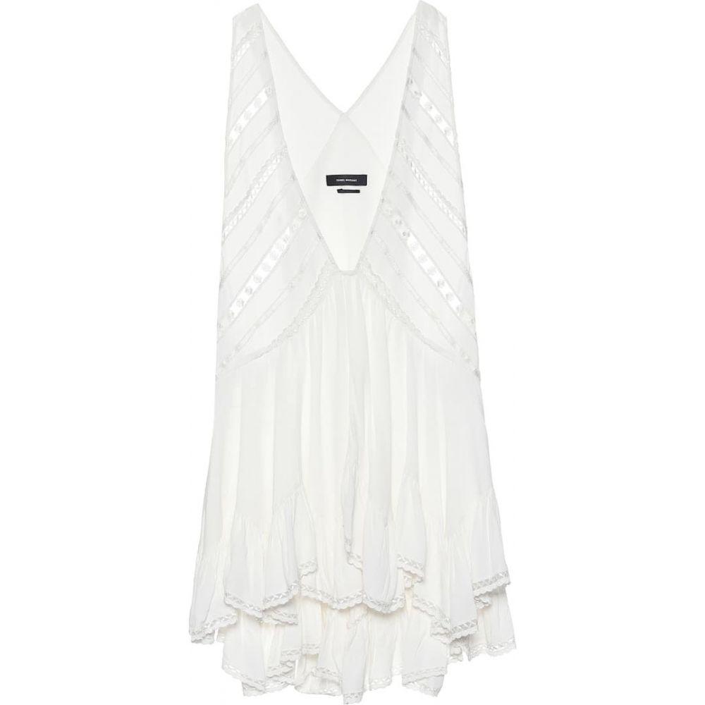 イザベル マラン Isabel Marant レディース ワンピース ワンピース・ドレス【Lacre crepe minidress】White