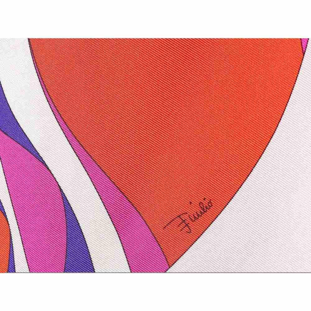 エミリオ プッチ Emilio Pucci Beach レディース ビーチウェア カフタン 水着・ビーチウェア Printed silk kaftan Corallo ViolasQrCxdthB