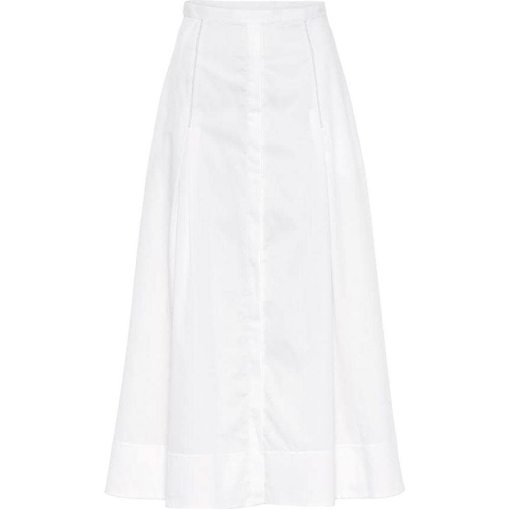 ガブリエラ ハースト Gabriela Hearst レディース ロング・マキシ丈スカート スカート【Jean high-rise cotton skirt】White