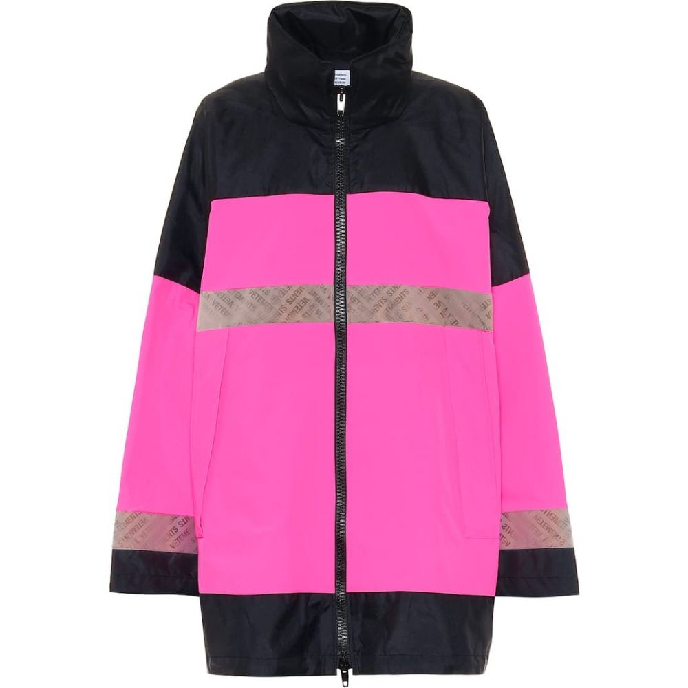 ヴェトモン Vetements レディース コート アウター【Taffeta parka】Pink