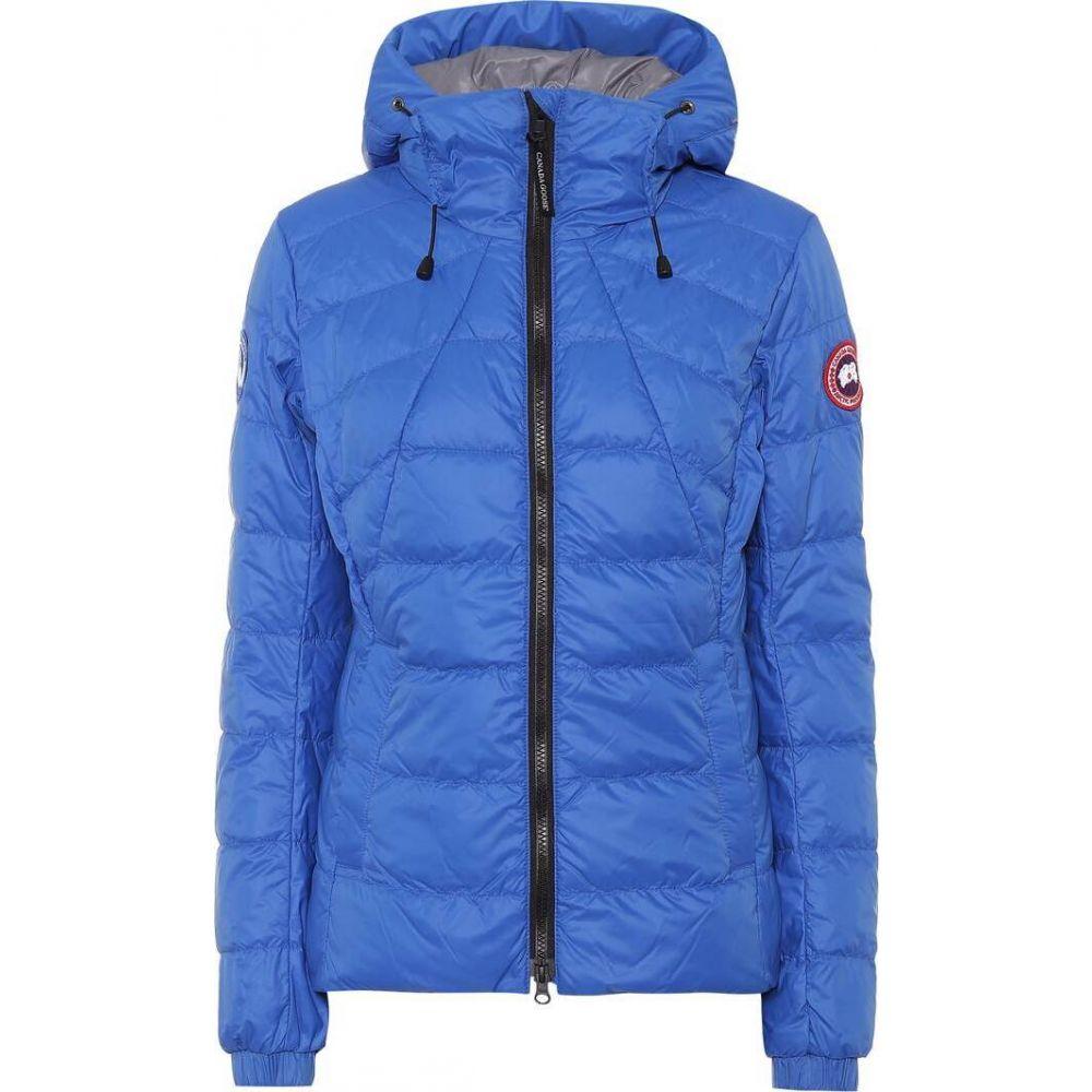 カナダグース Canada Goose レディース ダウン・中綿ジャケット アウター【Abbott Hoody down jacket】Royal Pbi Blue