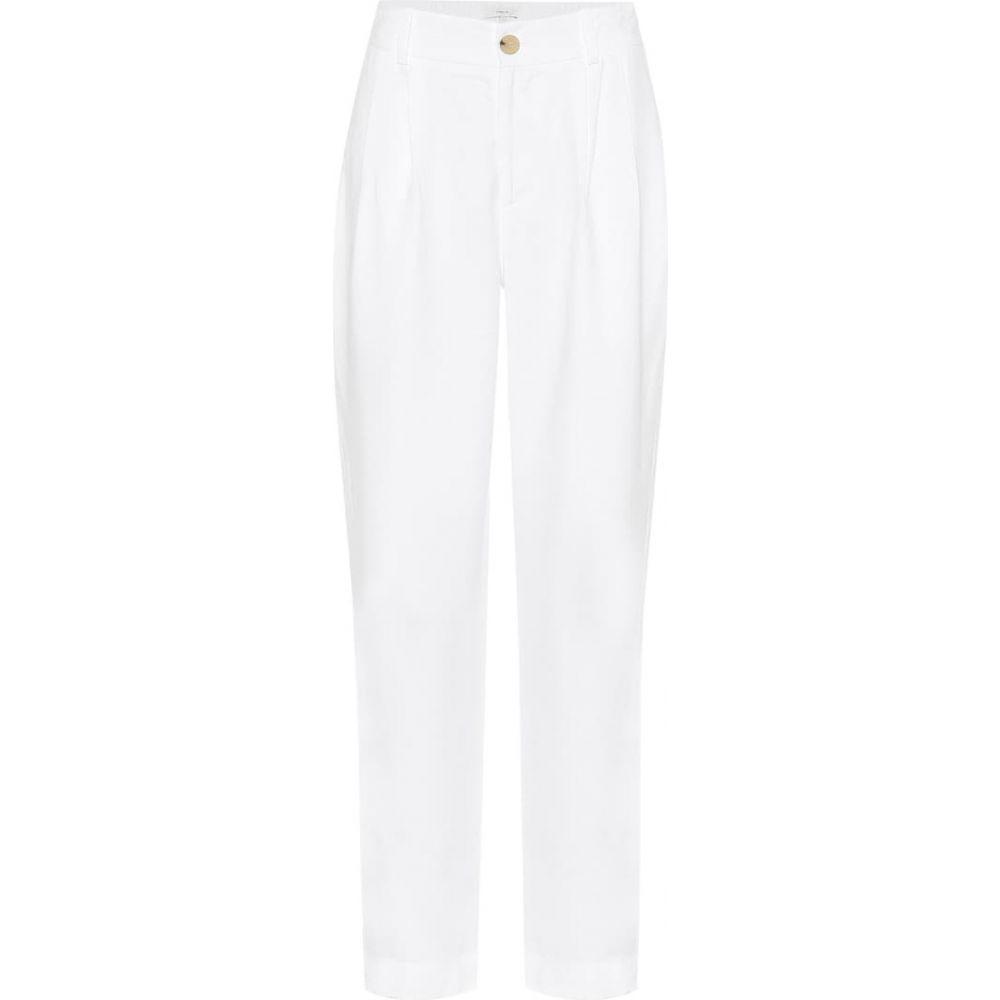 ヴィンス Vince レディース ボトムス・パンツ テーパードパンツ【High-rise tapered pants】Optic White