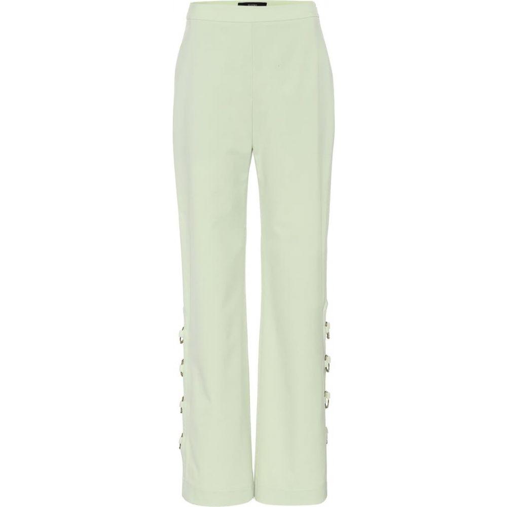 エラリー Ellery レディース ボトムス・パンツ 【Banquet embellished pants】Light Green