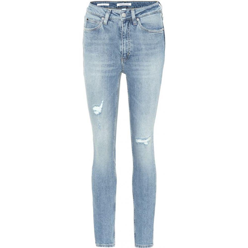 カルバンクライン Calvin Klein Jeans レディース ジーンズ・デニム ボトムス・パンツ【High-rise skinny jeans】Heavenly Blue