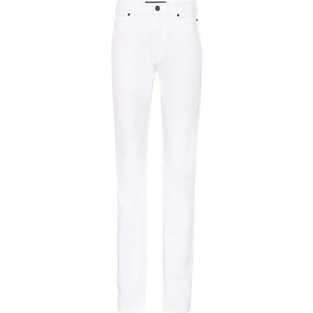カルバンクライン Calvin Klein 205W39NYC レディース ジーンズ・デニム ボトムス・パンツ【High-rise slim-straight jeans】Optic White