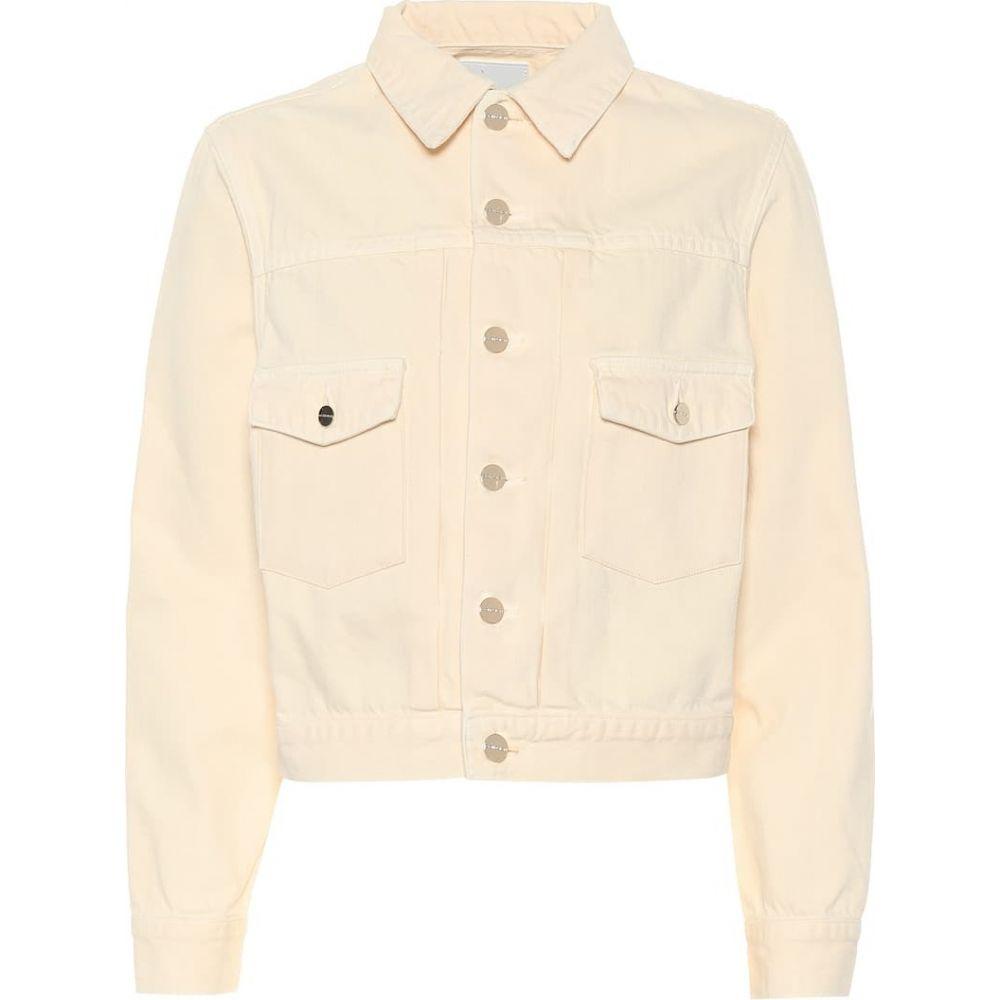 ゴールドサイン Goldsign レディース ジャケット Gジャン アウター【The Pleat denim jacket】blonde