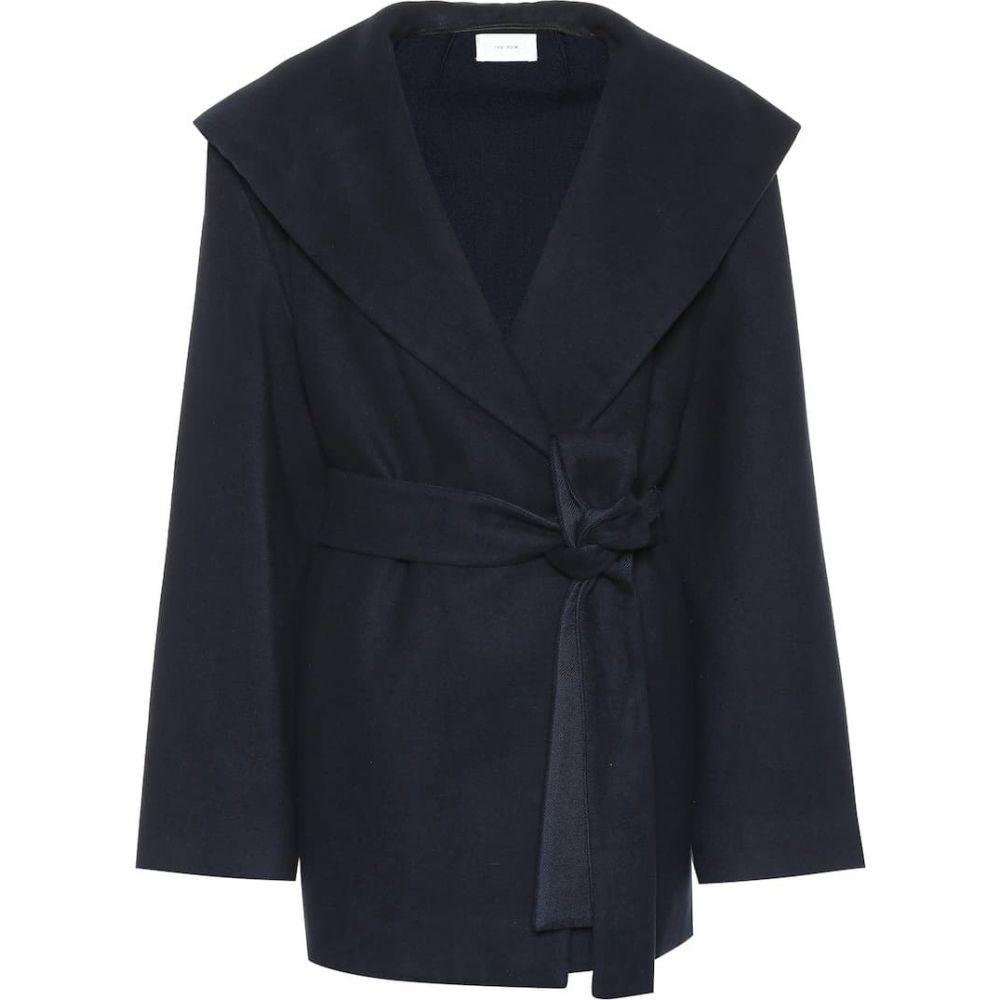 ザ ロウ The Row レディース ジャケット アウター【Reyna cotton and wool jacket】Navy